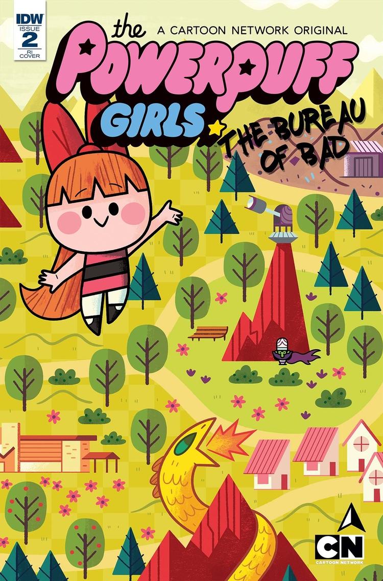 Trio covers Powerpuff Girls com - kolbisneat | ello