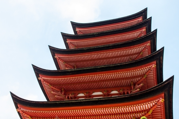 Built 1407, Story Pagoda Miyaji - ethandowning | ello