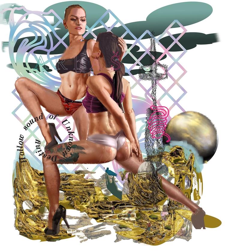 Chaos Eros 2017 - art, contemporaryart - bo-mak | ello