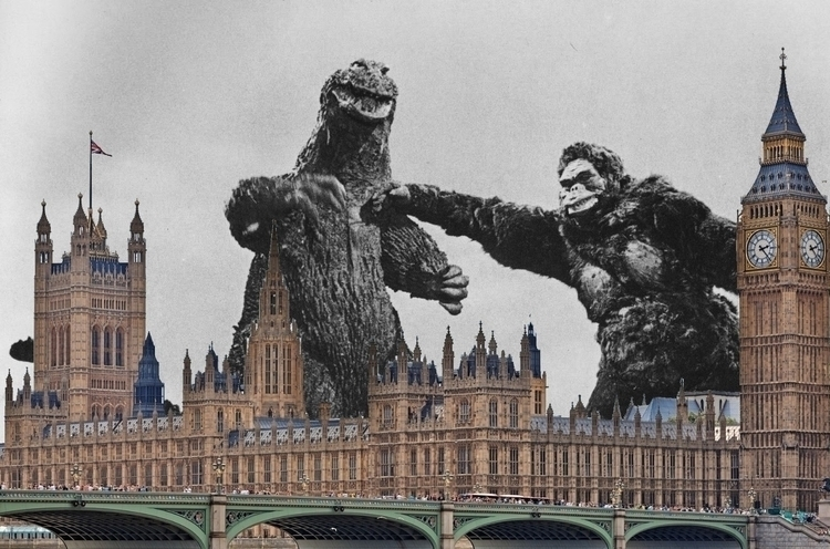 jolly chaps London - KingKong, Godzilla - sirhowardlee | ello