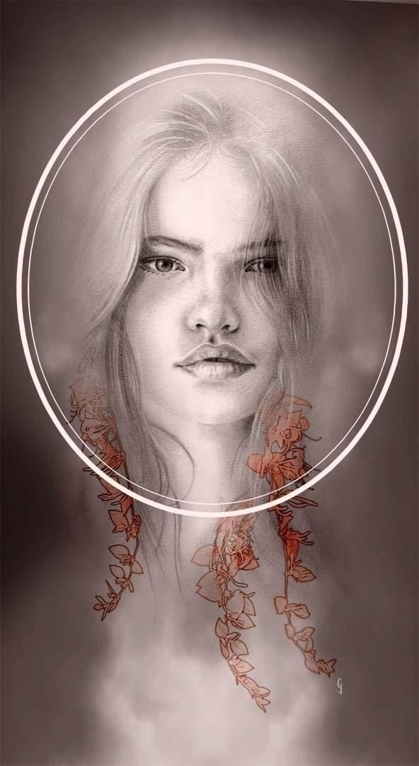 Fade 4 Graphite Digital - art, artist - geoffgoddard | ello