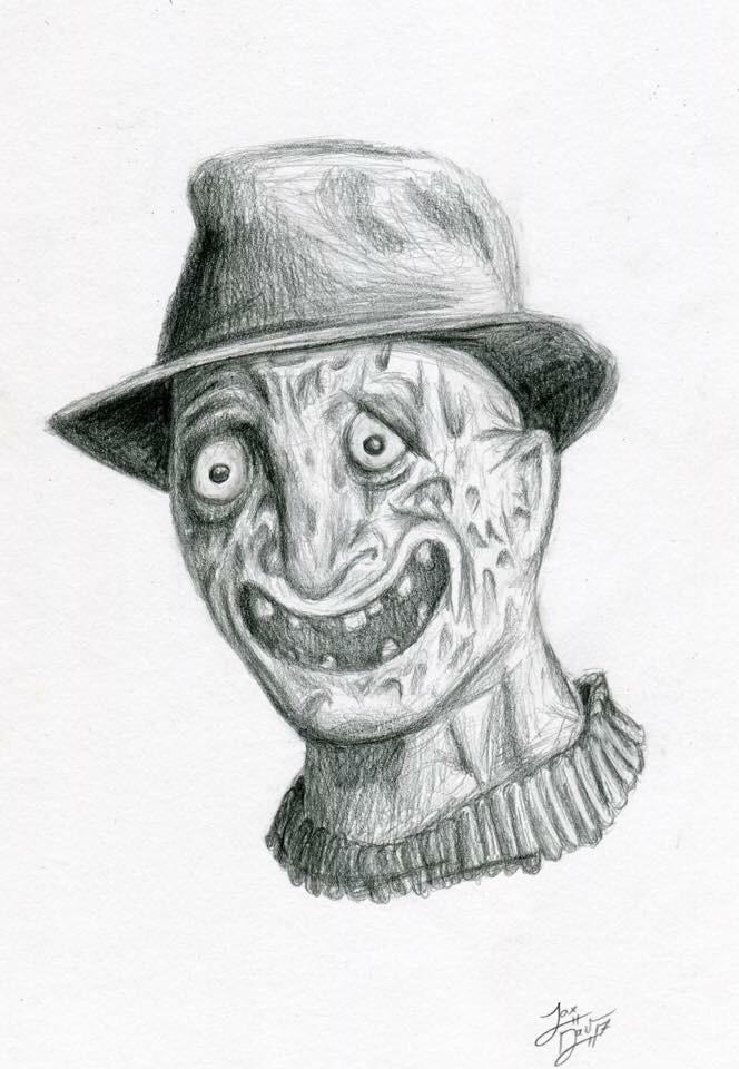 icon portraits  - horror, jaxdavarts - jaxdav | ello