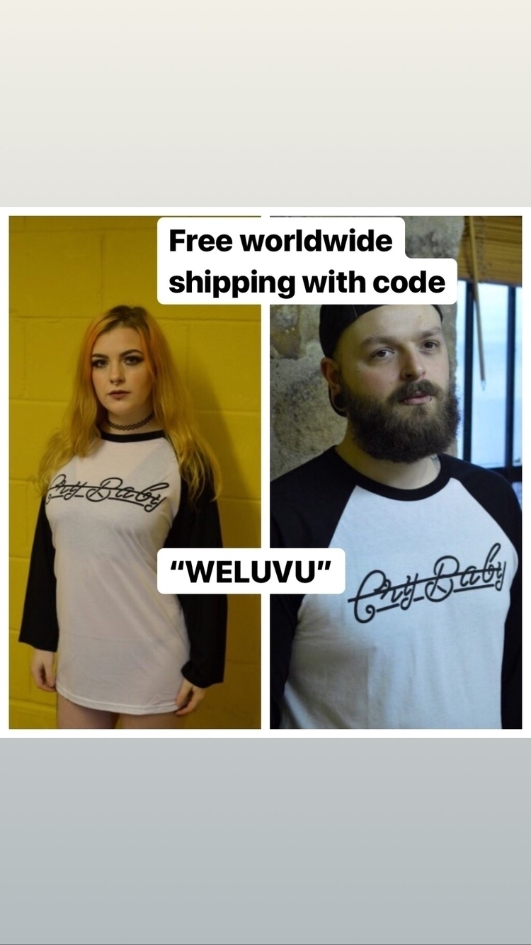 Free worldwide shipping Day!  - clothes - crybabyclubapparel | ello