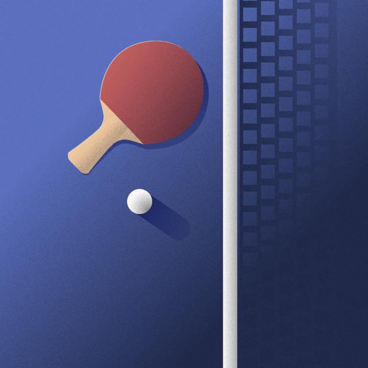Ping Pong illustration - pingpong - buynitsky | ello