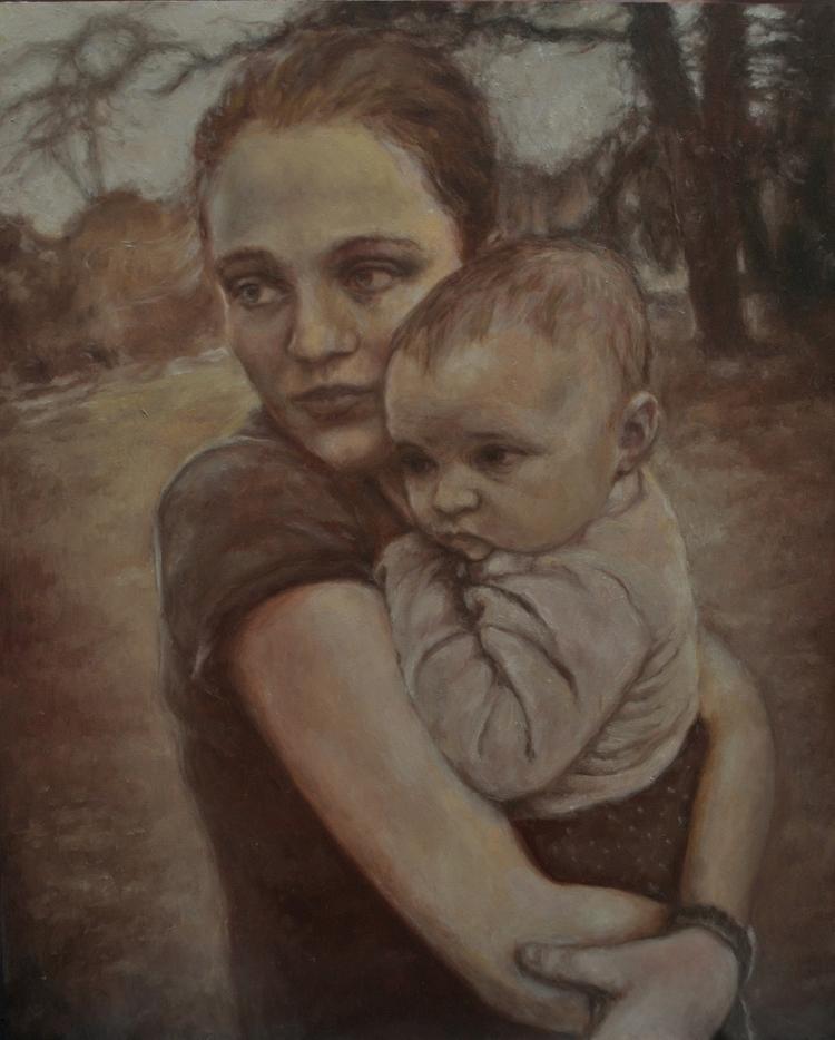 Bio. Jennifer Alarza, artist re - jennalarza | ello