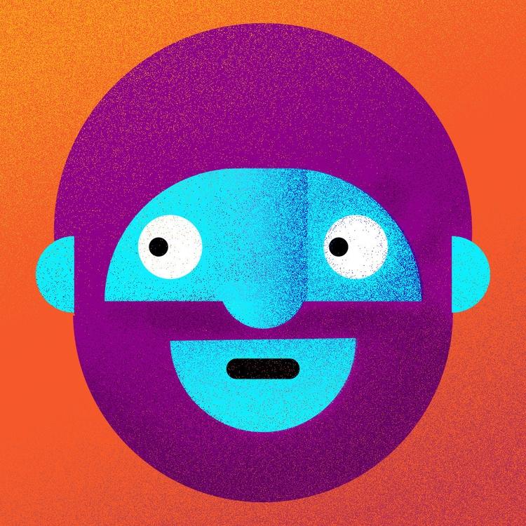 illustration, design, character - gooseymane | ello