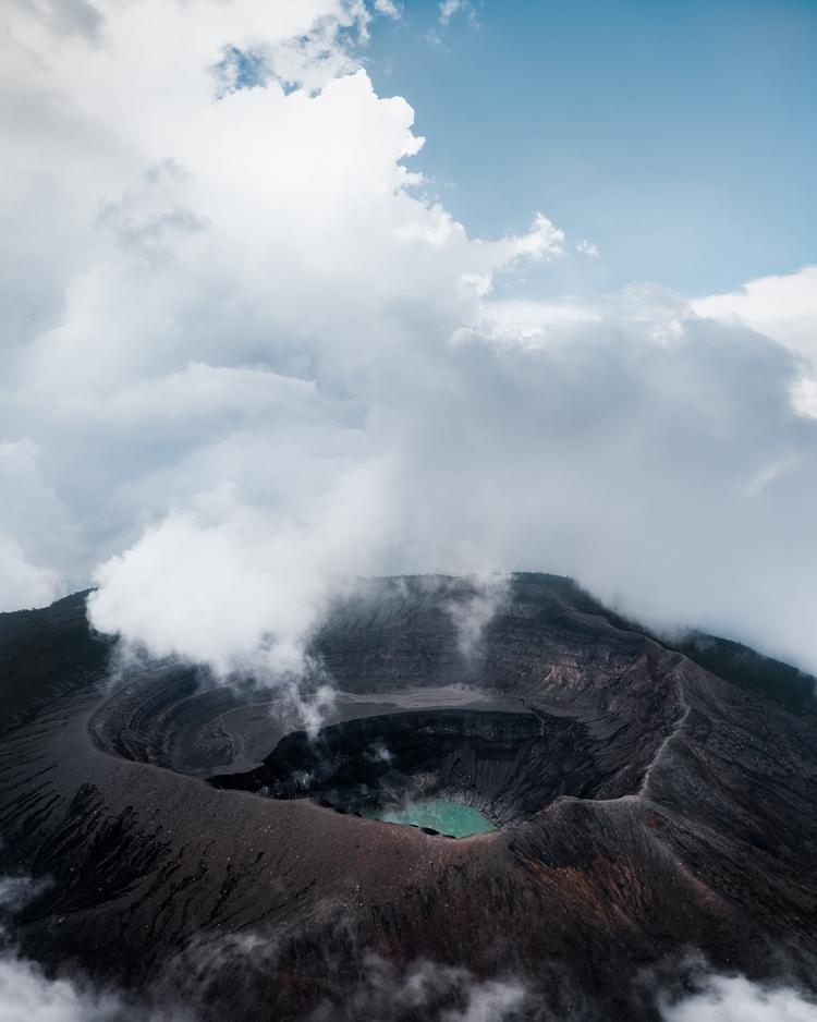 active  - elsalvador, volcano, aerial - simeonpratt | ello