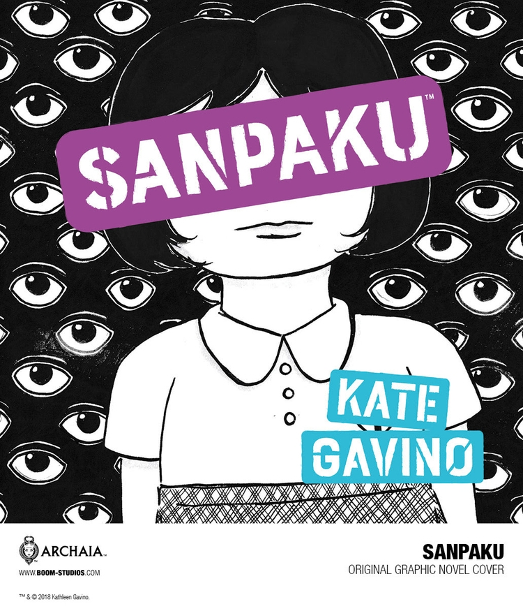 Kate Gavino Brings Sanpaku BOOM - comicbuzz | ello