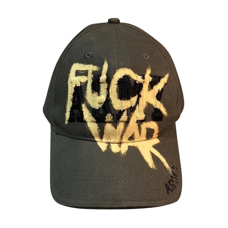 Fuck War Army Hat David Cash 20 - davidcash | ello