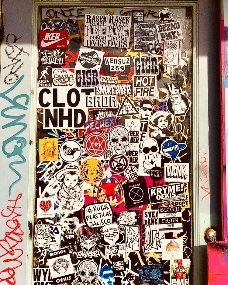 Stickers Venice Beach sticker c - wrdo | ello