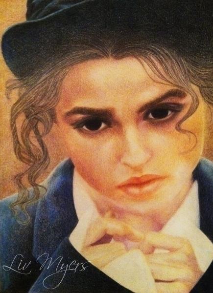 Helena Bonham Carter portrait - liviamyers | ello