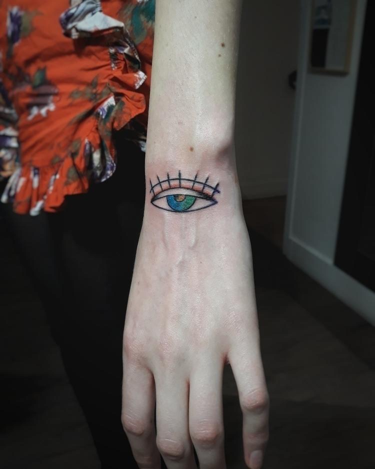 eye, tattoo - dinocestchiant | ello