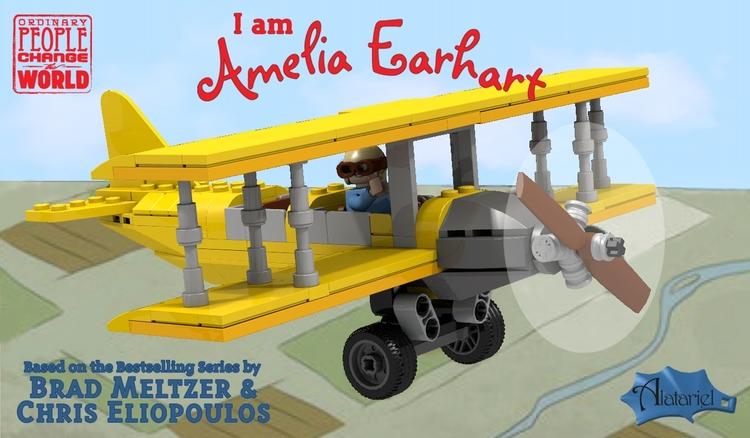Proposed Amelia Earhart LEGO se - bonniegrrl | ello