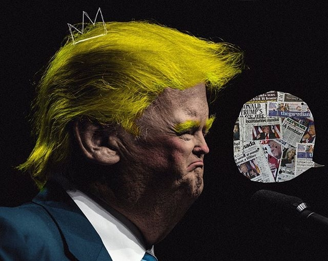 collage, art, trump, illustration - buentypo | ello