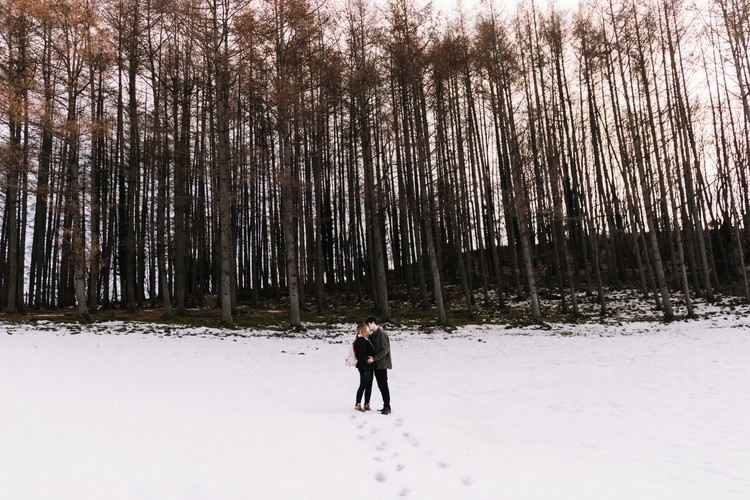 snow, love, couple, photography - nabilgallera | ello