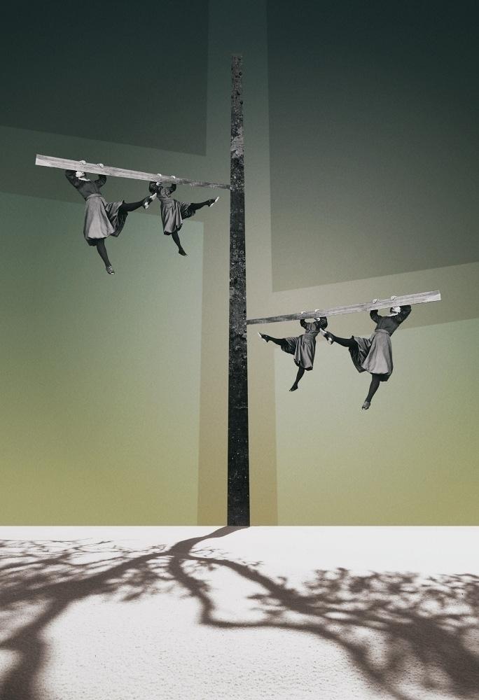 Shadow Play (Jeu 2018 - collage - julienp | ello