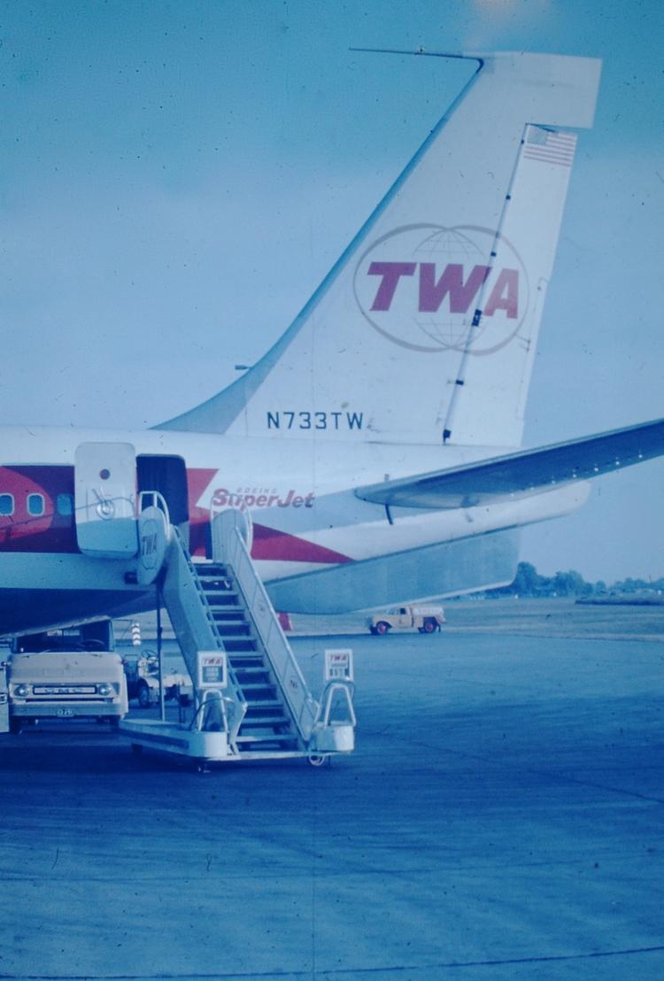 Photo - TWA Boeing 707, N733TW - marksusina | ello