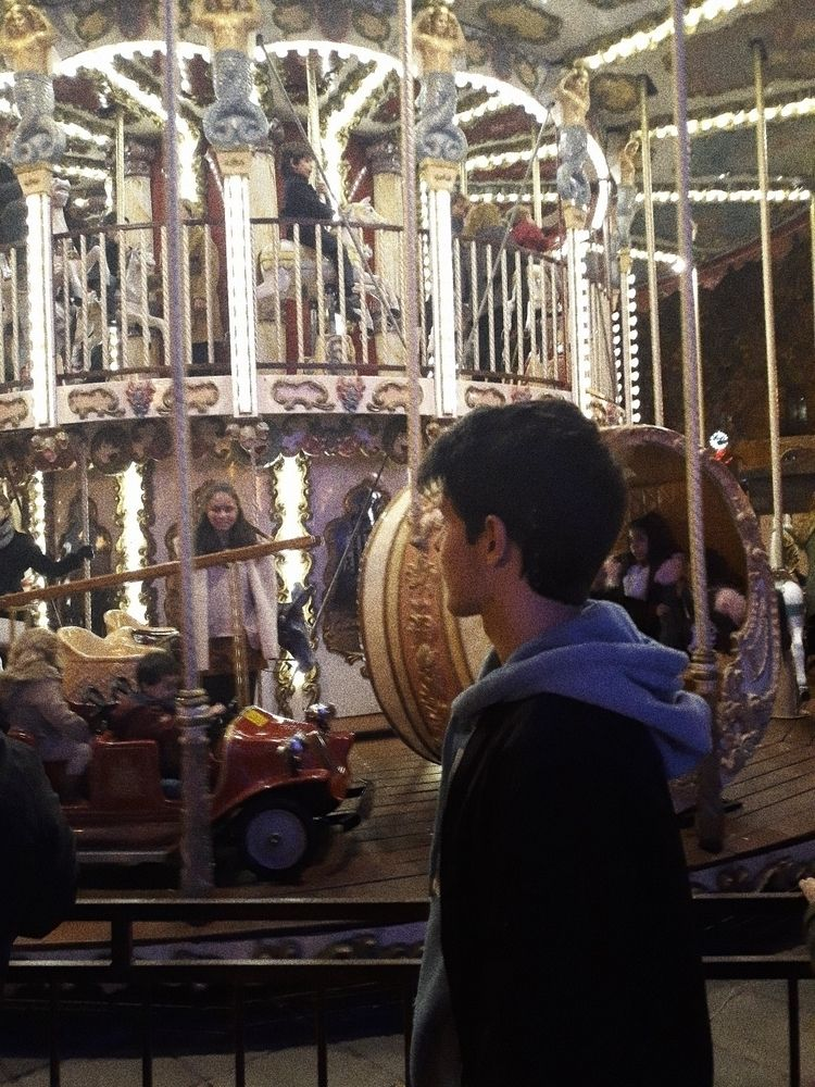 Xmas, lights, carousel - 99_jc | ello