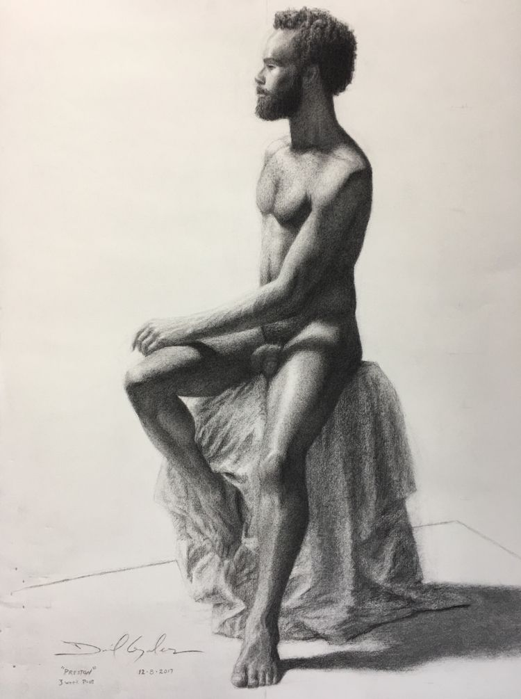 drawing Preston Gage Academy. p - danielsartwork | ello