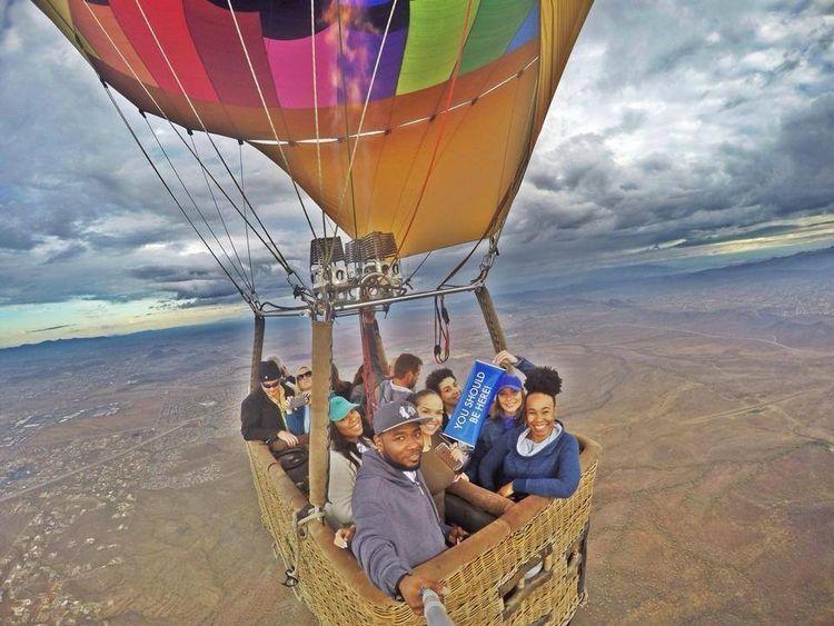 Phoenix Hot Air Balloon Rides  - aerogelicballooning   ello
