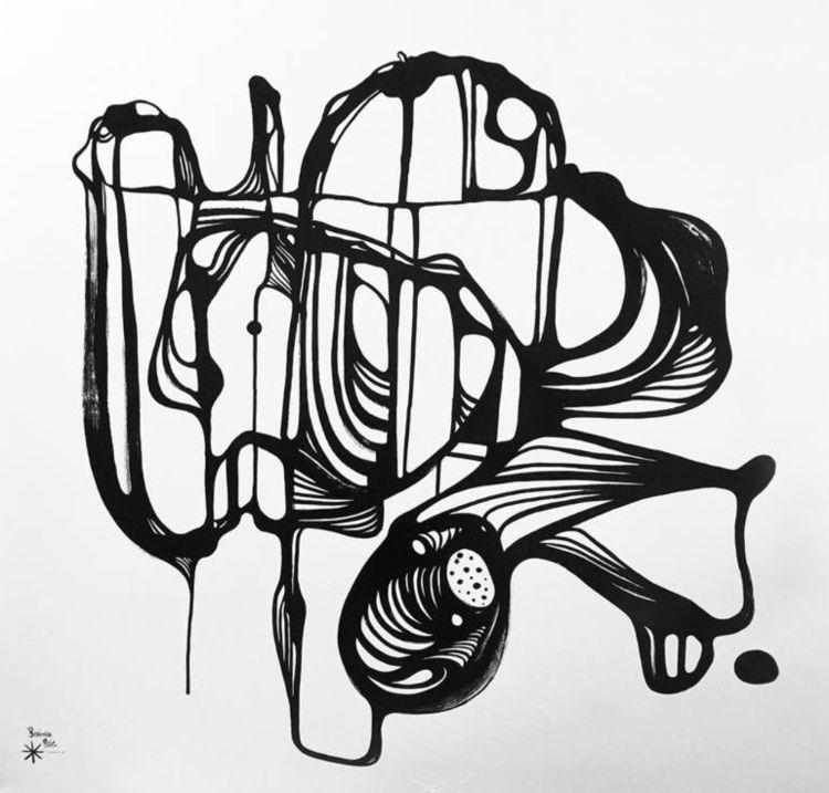 Abstraction 4 - 2017 120x120cm - berenice_rosie | ello