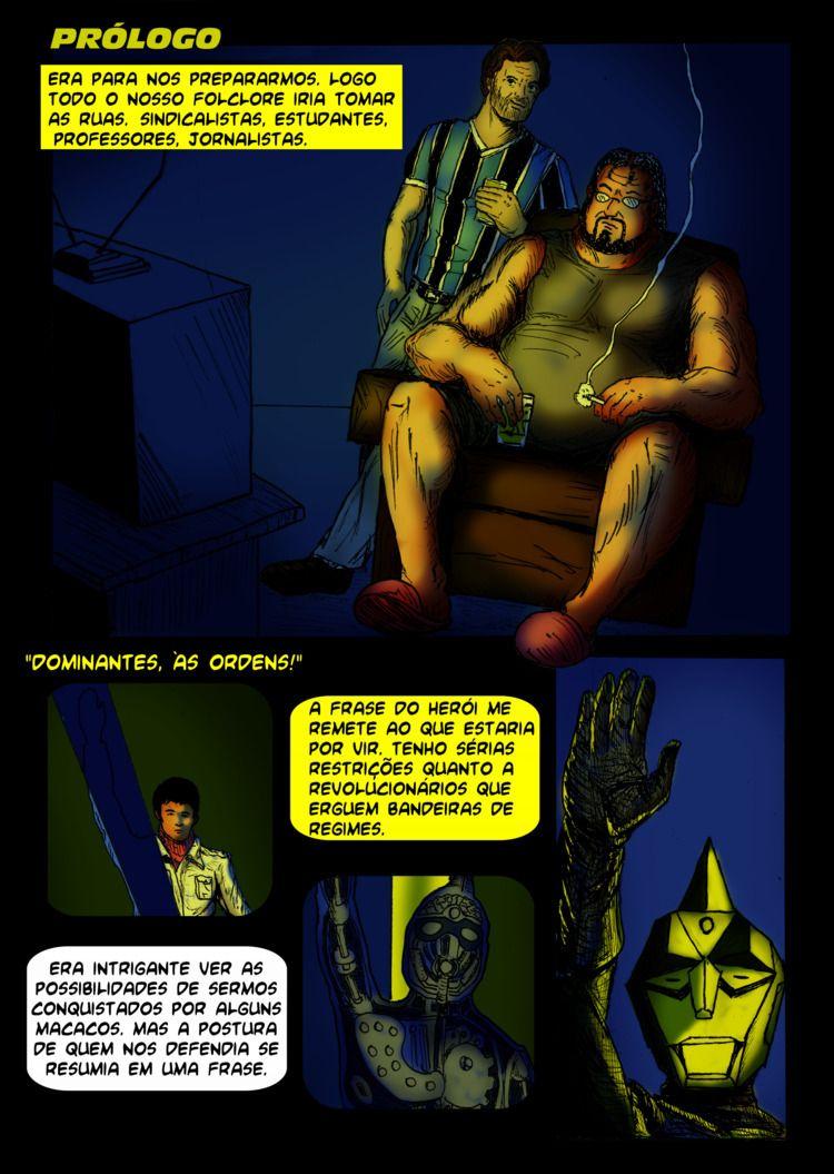 Referência é tudo - comics, pages - rodviegas | ello
