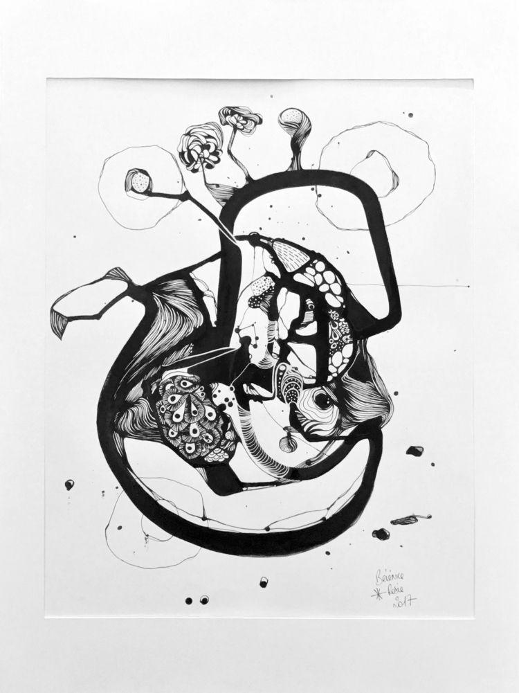 Abstraction 2 - 2017 50x65cm, i - berenice_rosie | ello