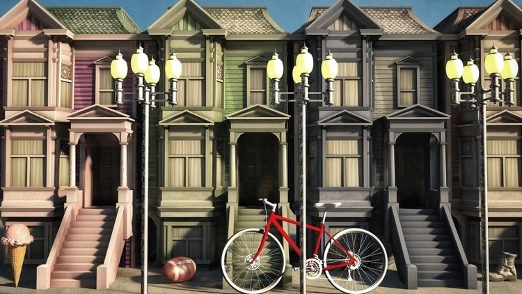 Urban Life - art, illustration, illusography - alanbrownone | ello