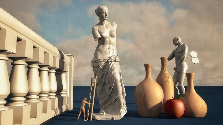 Stoic - art, illustration, illusography - alanbrownone | ello