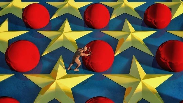 Stars - art, illustration, illusography - alanbrownone | ello