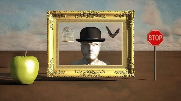 Framed - art, illustration, illusography - alanbrownone | ello