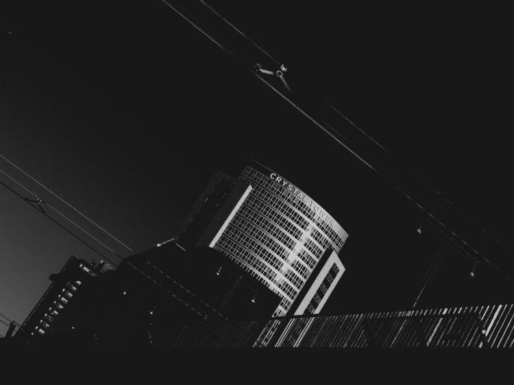 contrast, blackandwhite, architecture - femaletroublebot | ello