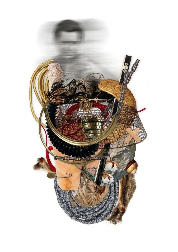 CASULO II Digital Collage - art - marciaalbuquerque | ello