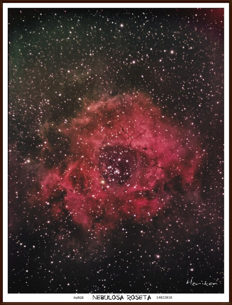 saindo forno ... Nebulosa Roset - heritonrocha   ello