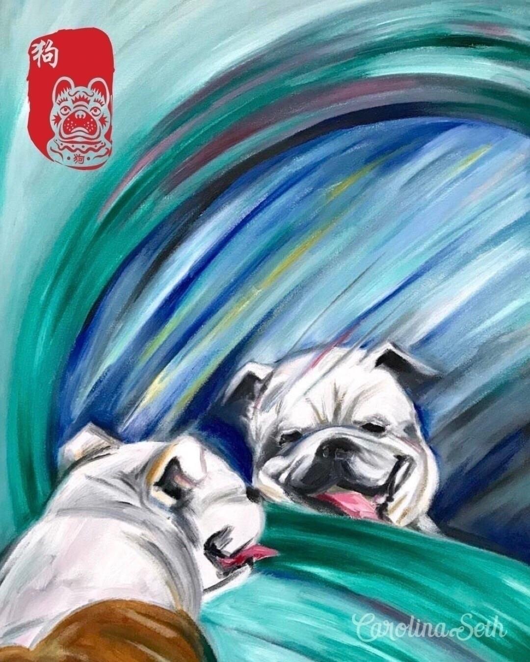 Happy Lunar Year! Year Dog, Woo - carolinaseth | ello