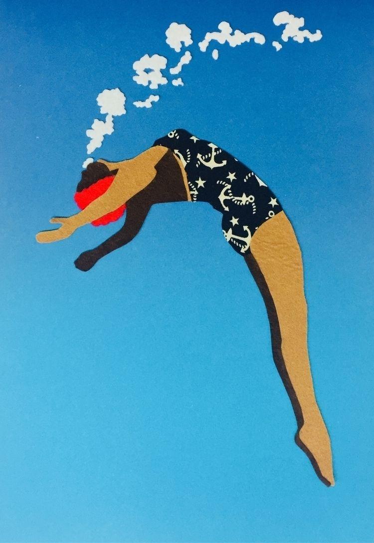 Freedom. Handmade illustration  - ximenaescobar | ello