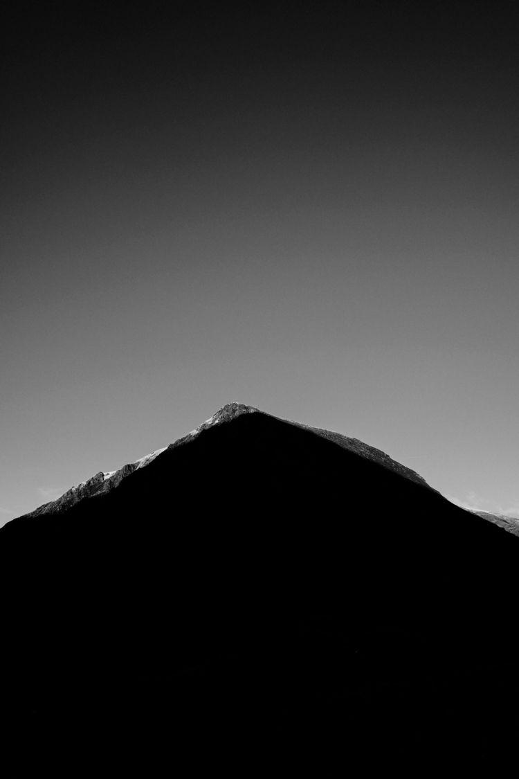 photography, blackandwhite, mountain - simonjob | ello