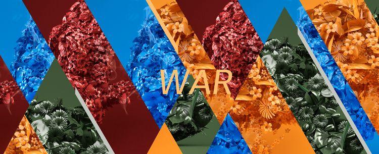 WAR Flowers NastPlas HELMET - nastplas - nastplas | ello