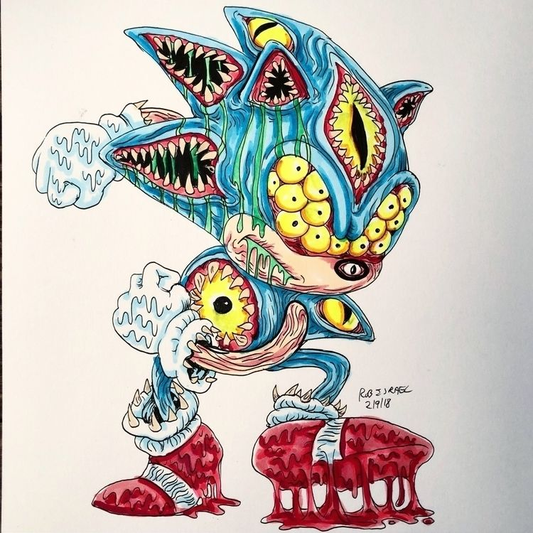 Monster original art sale. Cont - robisrael | ello