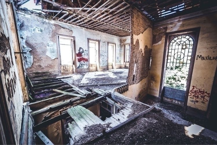 beams - photography, abandoned, urbex - franlens | ello