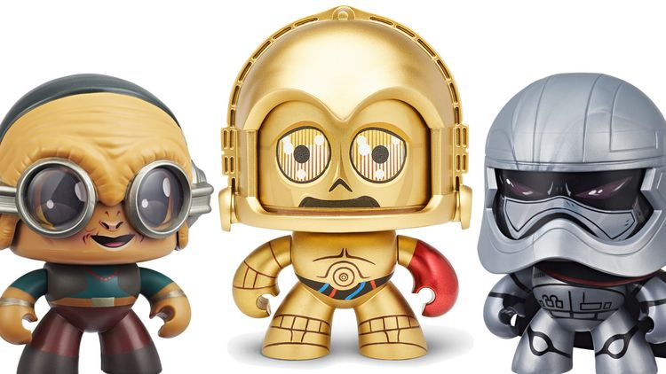 Star Wars Mighty Muggs force NY - bonniegrrl | ello