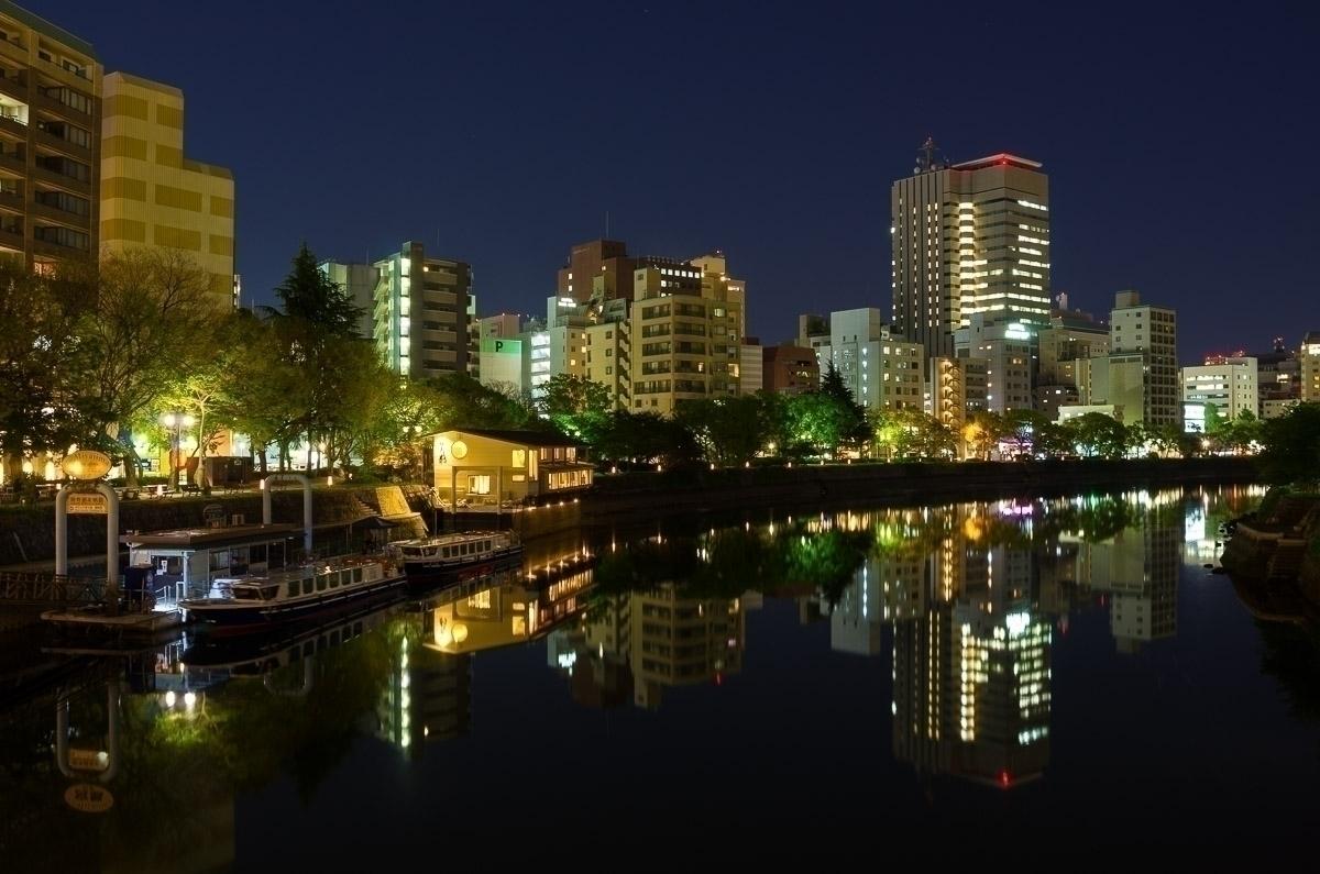 Blue hour Hiroshima - velviake | ello