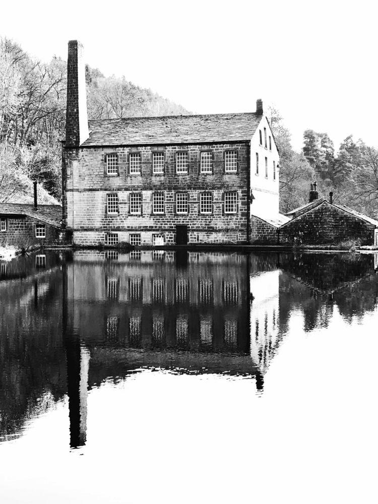 Gibson Mill, Hardcastle Crags - blackandwhite - spionkopred | ello