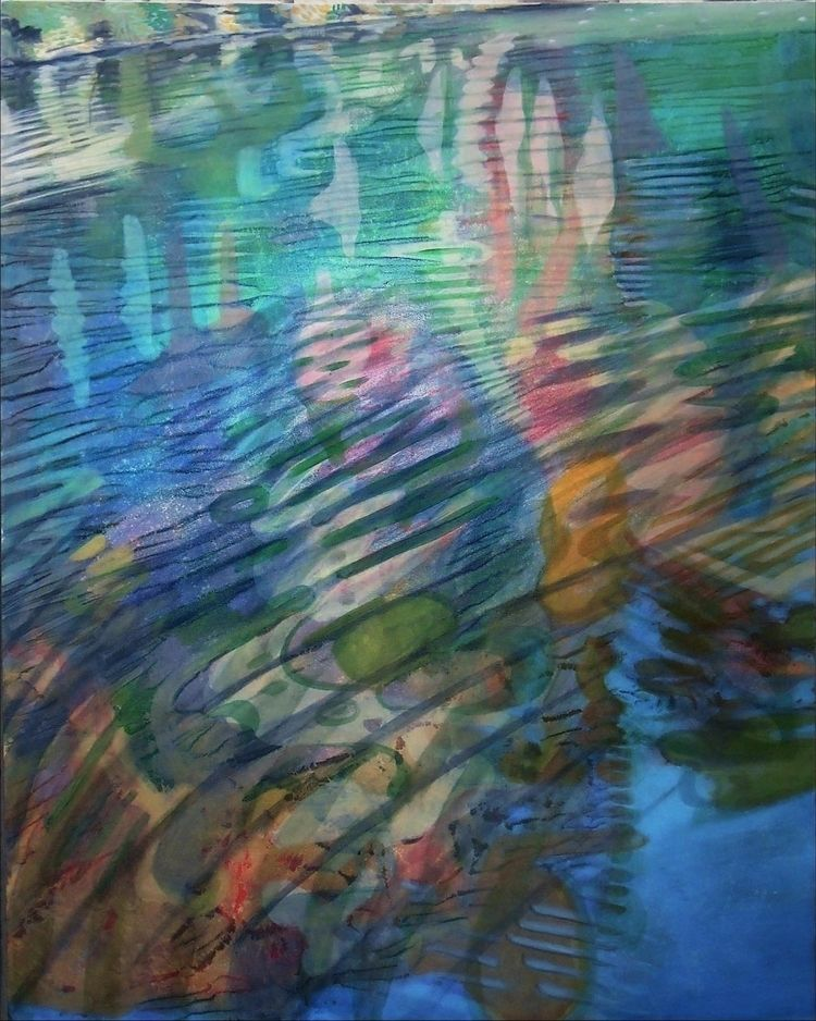 Autumn Reflections, Oil Paintin - dawnadamspaintings | ello