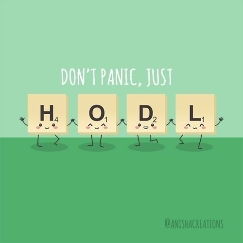 gonna HODL? Crypto - cute, illustration - anishacreations | ello