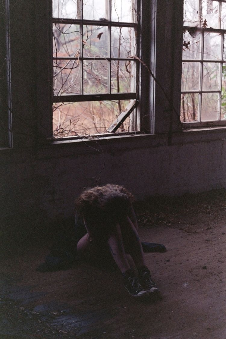 Sad Virginia abandoned school F - nihilisticandnarcissistic | ello