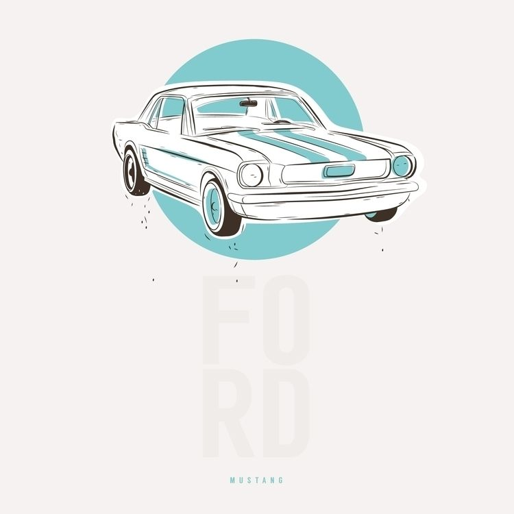 Ford Mustang - ford, fordmustang - iampommes | ello