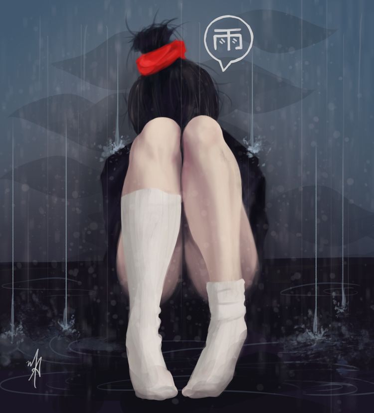 Rain - Digital Painting - digitalpainting - pfasm | ello
