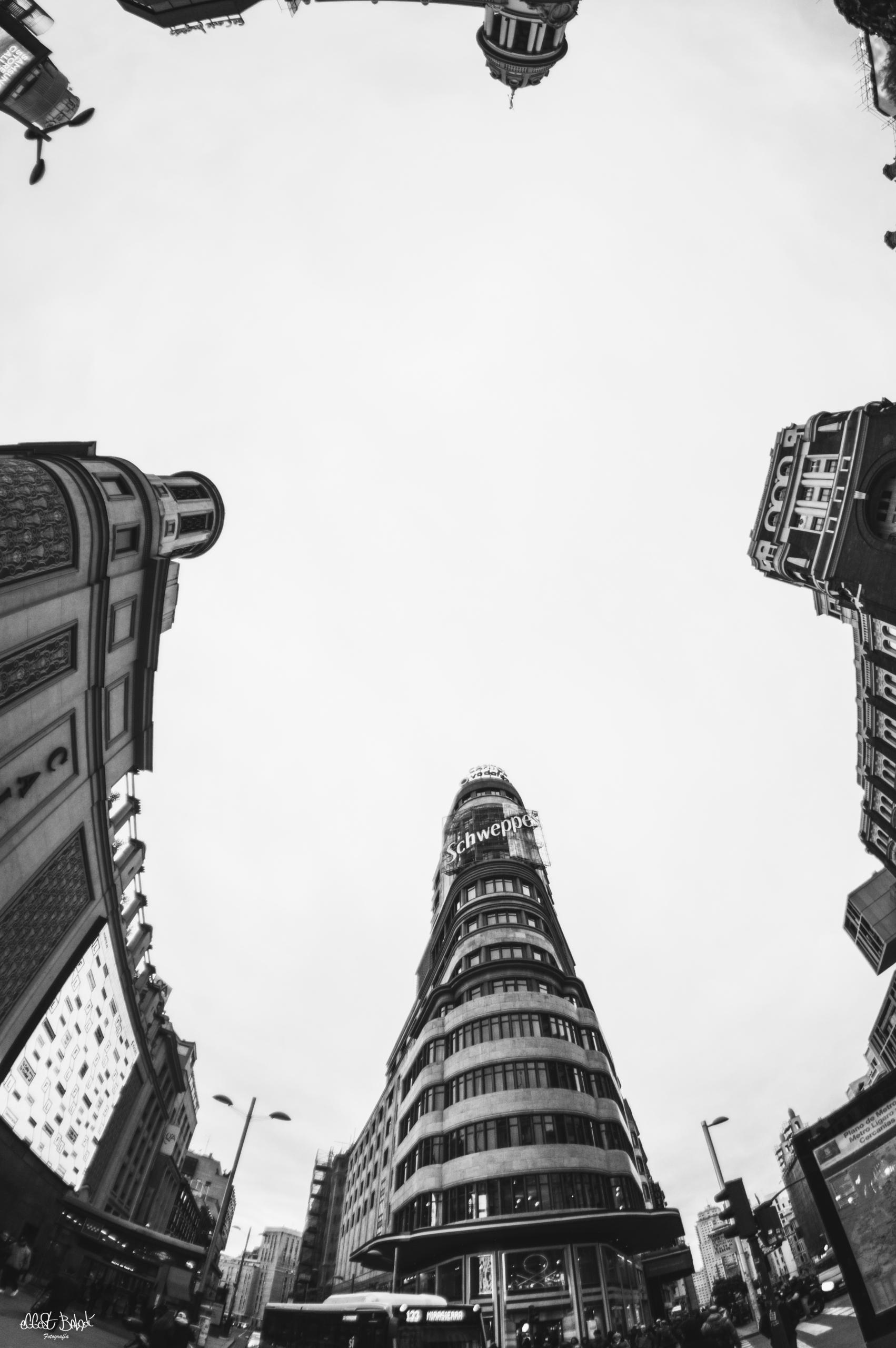 GranVia, Architechture, Madrid - eggest | ello