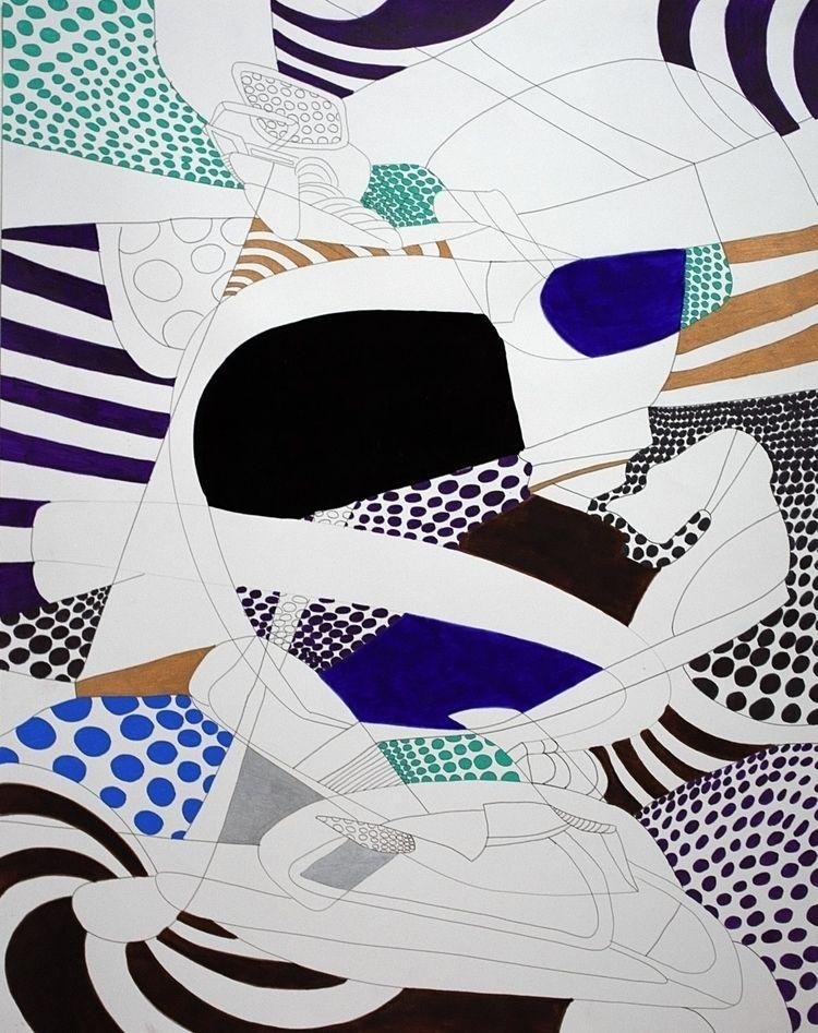 year 2017: Abstraction 15 - 22  - dannyartist | ello
